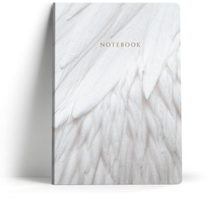 "Classical ""Delicate Wing"" A5 Notebook"