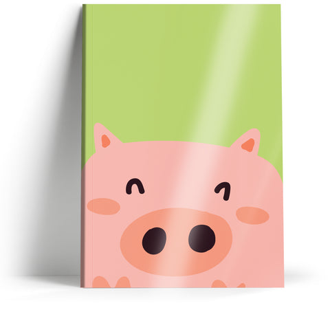 "Ani-mates ""Piggy"" A5 Notebook"