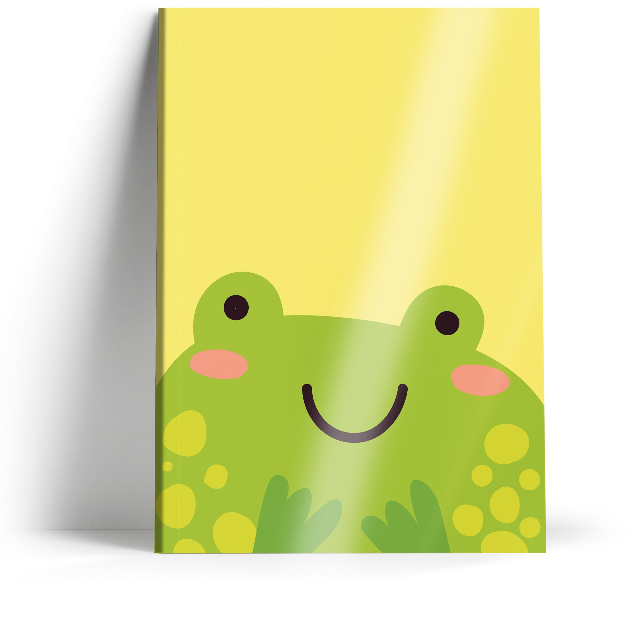 "Ani-mates ""Frog"" A5 Notebook"