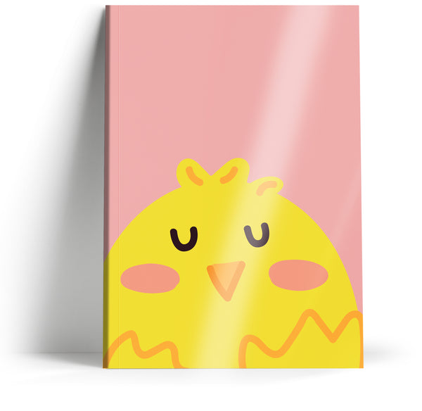 "Ani-mates ""Chick"" A5 Notebook"
