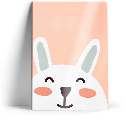 "Ani-mates ""Rabbit"" A5 Notebook"