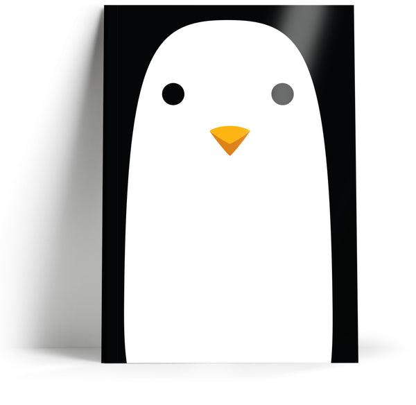 "Ani-mates ""Penguin"" A5 Notebook"