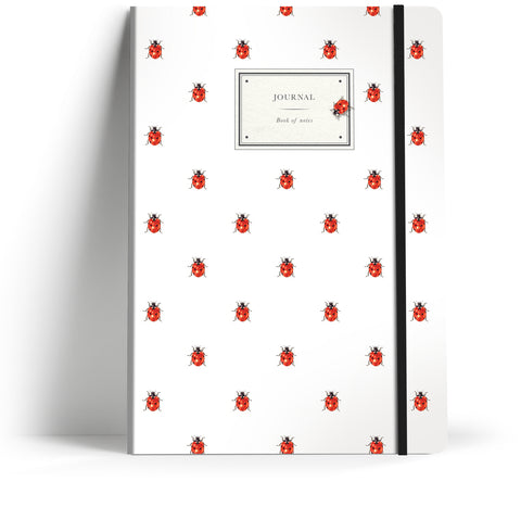 "Natural History ""Repeat Ladybird"" A5 Notebook"