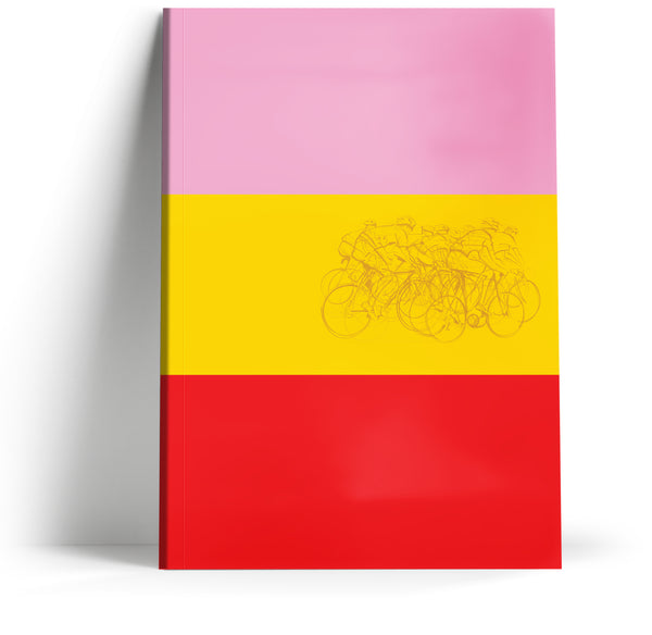 Grand Tours 'Winning jerseys' A5 Notebook