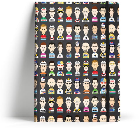 Rich Mitch Notebook //  Icons of cycling