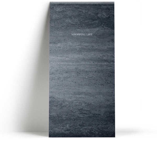 Shopping list pad - Marble Grey