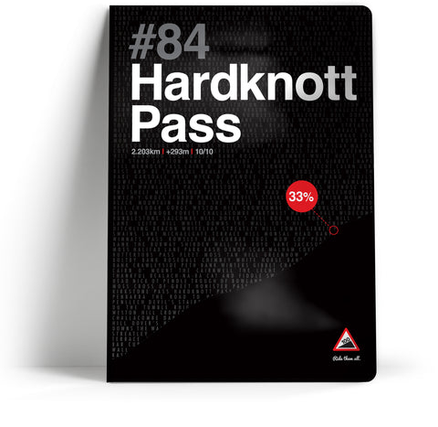 100 Climbs // #84 Hardknott Pass Notebook