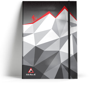 100 Climbs // Mountain facets Notebook