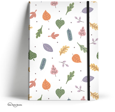 Eva Martinez notebook // Autumn leaves