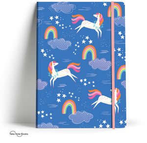 Rosanna Rossi Notebook - Unicorns