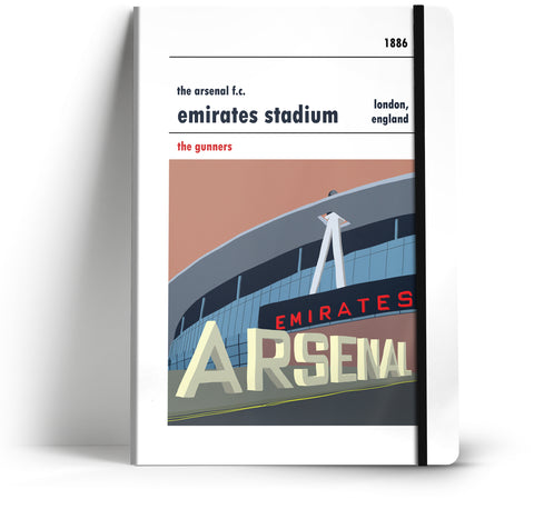 Arsenal Football Club A5 Notebook