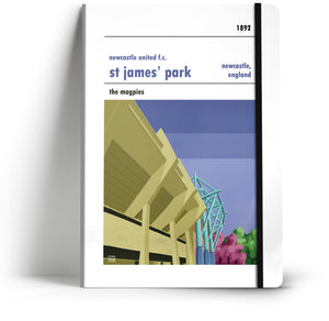 Newcastle United Football Club A5 Notebook