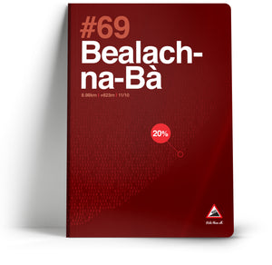 100 Climbs // #69 Bealach-na-ba A5 Notebook