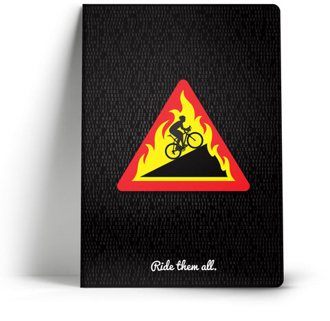 100 Climbs // Hellingen A5 Notebook