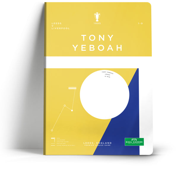 Goal Hanger // Tony Yeboah A5 Notebook