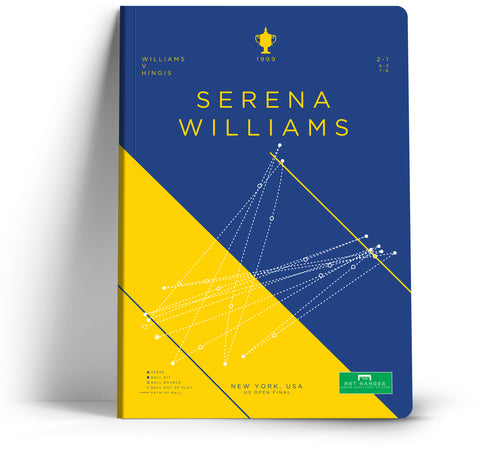 Goal Hanger // Serena Williams A5 Notebook