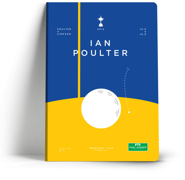 Goal Hanger // Ian Poulter at The Ryder Cup