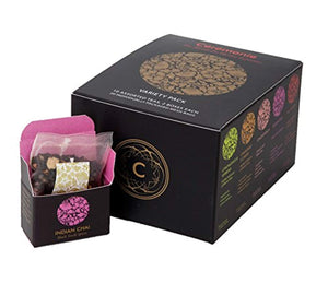Mini Cube Variety Tea Gift Pack (20 Individually Wrapped Mesh Bags)