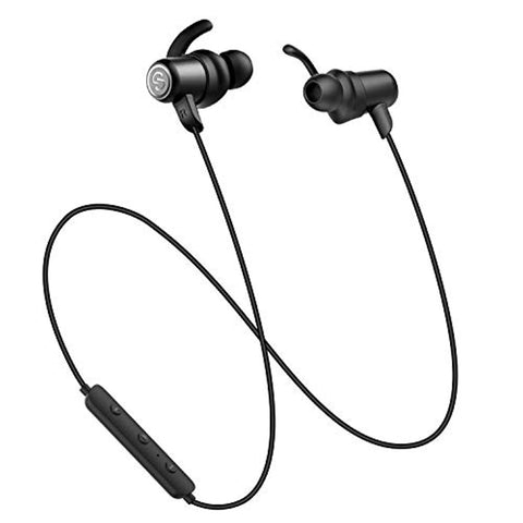 Wireless Headphones, Manegtic Bluetooth Headphones with Mic Tektek in Ear Earbuds IPX6 Sweatproof Earphones (Bluetooth 4.1, Aptx Stereo, 8hours Play Time, CVC 6.0 Noise Cancelling Microphone)