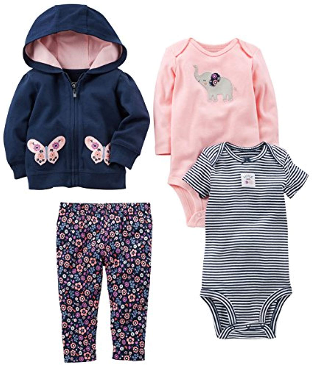 Baby Girls' 4-Piece Little Jacket Set