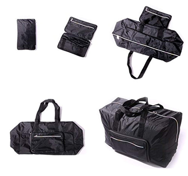 Large Travel Duffel Bag Foldable Large Travel Bag Weekend Bag Checked Bag Luggage Tote 18 Style 21.6IN x 9.8IN x 13.7IN