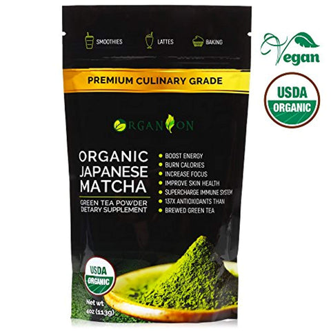 Matcha Green Tea Powder (113 g) – Organic Premium Authentic Japanese