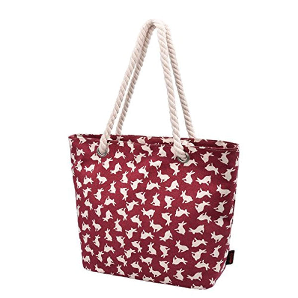 Womens Beach Bags and Totes Large Beach Tote Bag Shopping Bag with Thick Rope Handle