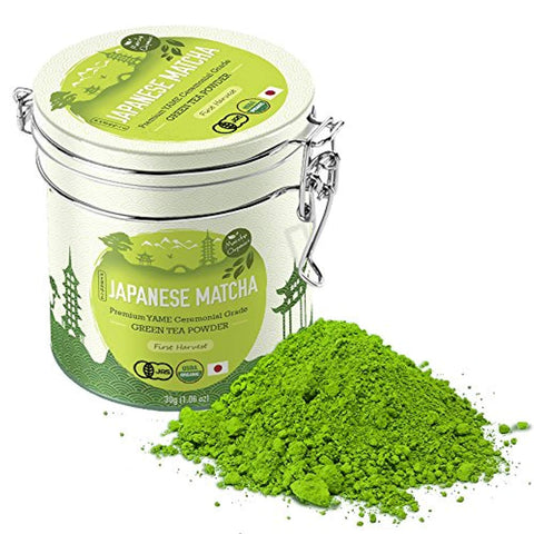 Premium Japanese Matcha Green Tea Powder - 1st Harvest Ceremonial HIGHEST Grade