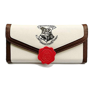 Women's Wallet for Harry Potter Fans Designer Hogwarts Slim Small Card Holder Wallet for Women