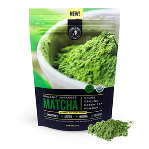 Organic Japanese Matcha Green Tea Powder