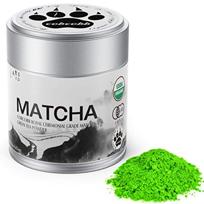 Matcha Green Tea Powder – Boosts Metabolism and Burns Calories Antioxidants Rich Superfood. (Royal, 35g)