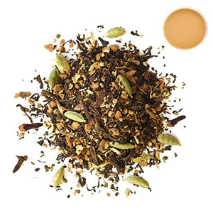 Rishi Masala Chai Tea, Organic Loose Leaf Black Tea Blend, 1 lb Bag