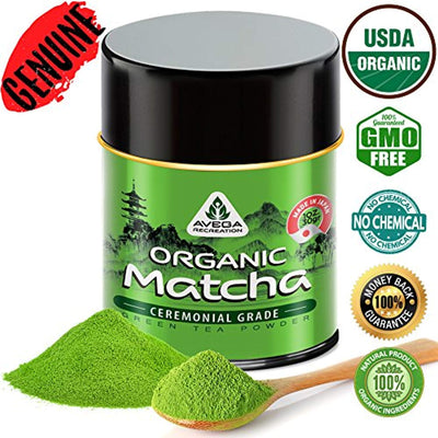 Matcha Green Tea Powder Original Powerful Energy Booster Distinctly Top