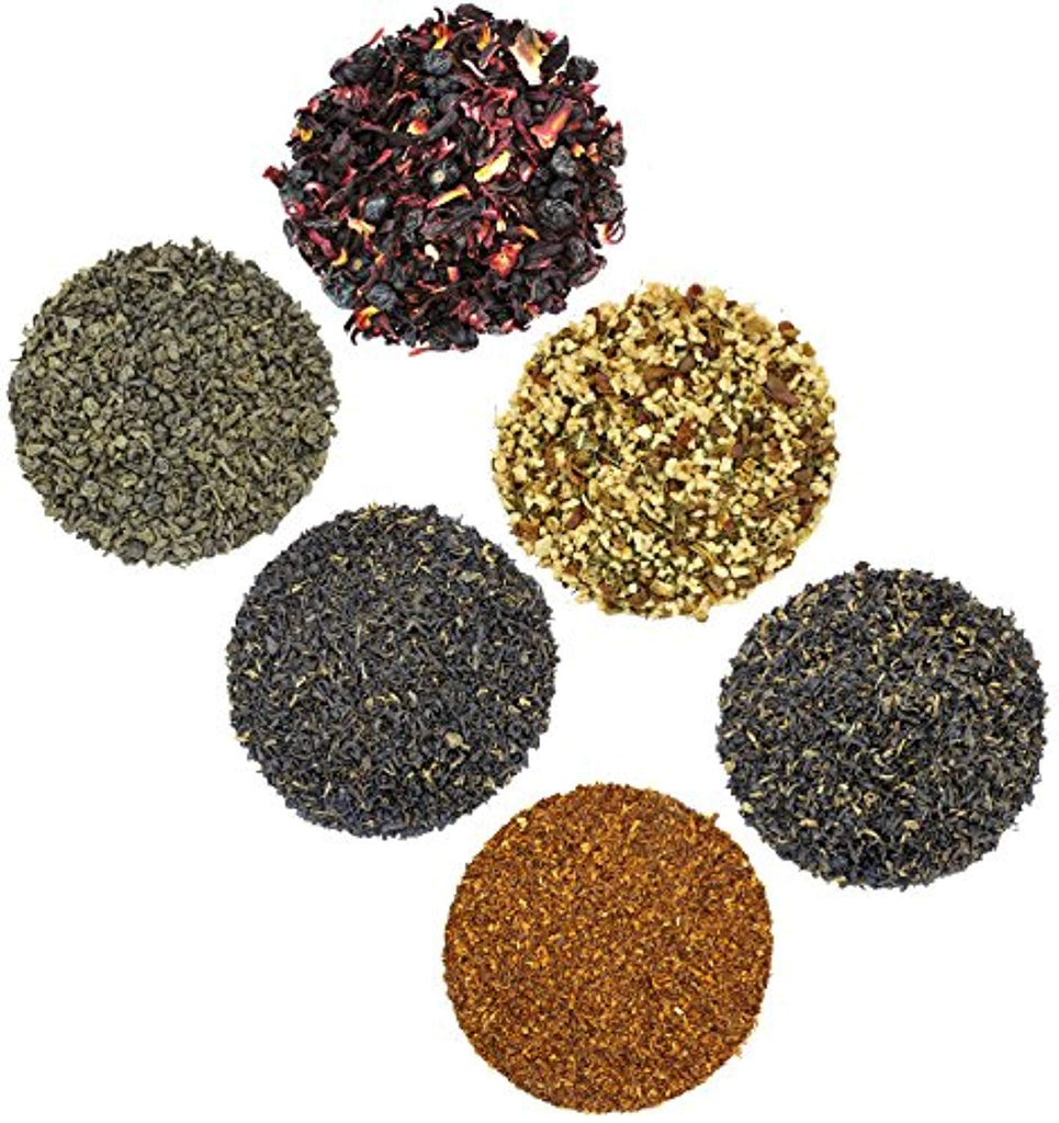 Solstice Loose Leaf Tea Ultimate Sampler Feat. 12 Teas