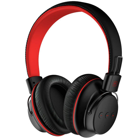 Over Ear Lightweight, Comfortable for Long-time Wearing, Hi-Fi Stereo Wireless Headphones, Foldable Headset w/Built-in Mic and Wired Mode for PC/Cell Phones