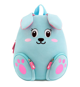 Blue Rabbit Bunny Koala Cartoon School Bag Kids Backpack Pre School Children Toddler