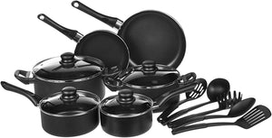 8-Piece NonStick Cookware Set