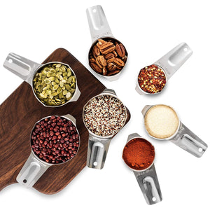Stainless Steel Measuring Cups Cooking & Baking 7 Piece