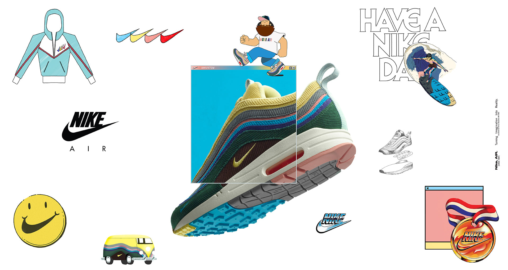 dafff3bbab Sean Wotherspoon Nike Air Max AM1/97 | Always in Colour