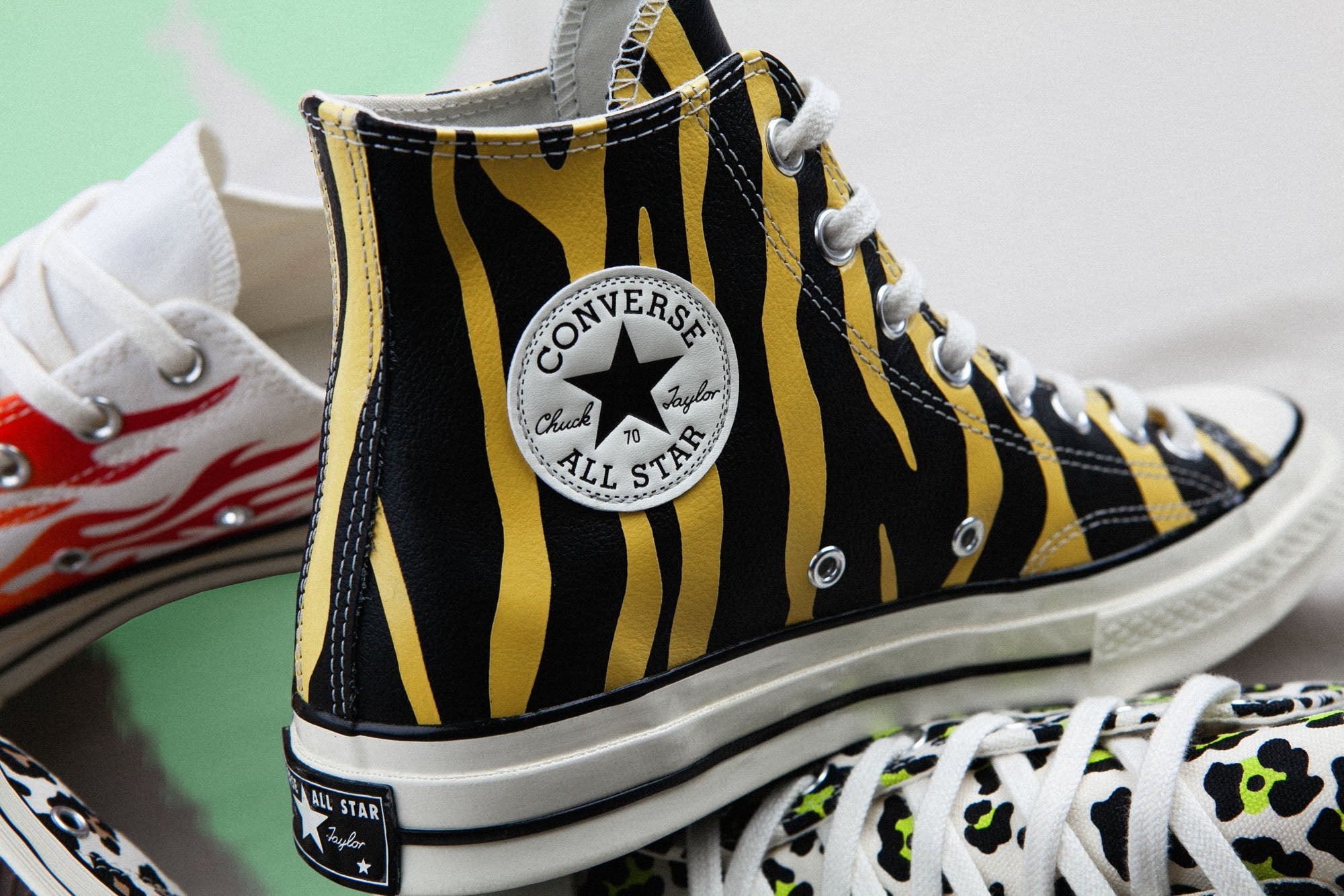 The Story Of The Converse Archive Print | Always in Colour