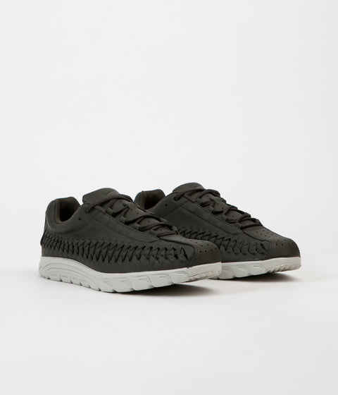 Nike Mayfly Woven Shoes - Sequoia / Pale Grey - Black