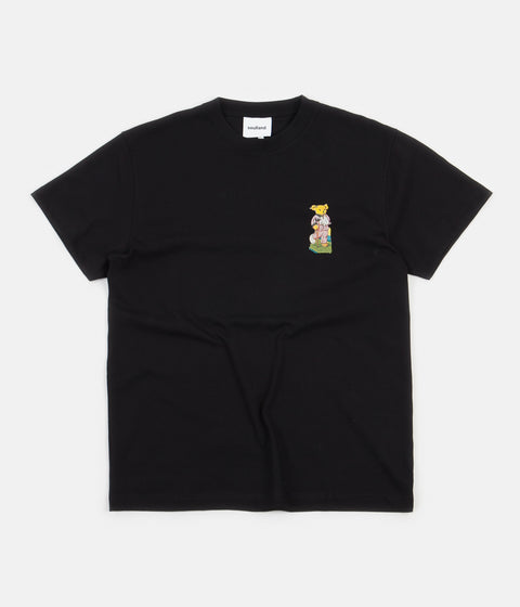 Soulland Scraps T-Shirt - Black