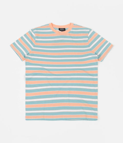 A.P.C. Gio T-Shirt - Turquoise