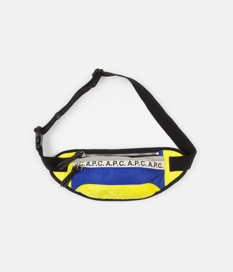 A.P.C. Repeat Hip Pack - Royal Blue