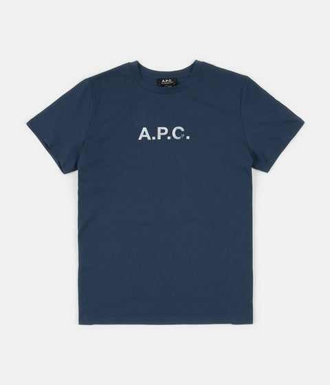 A.P.C. Stamp T-Shirt - Blue