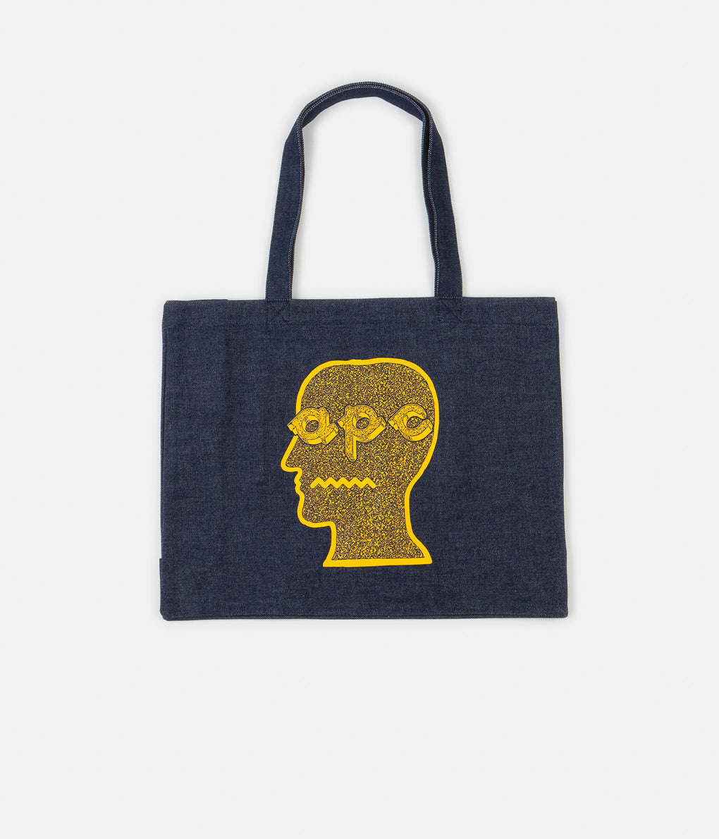 A.P.C. x Brain Dead Shopping Bag - Yellow