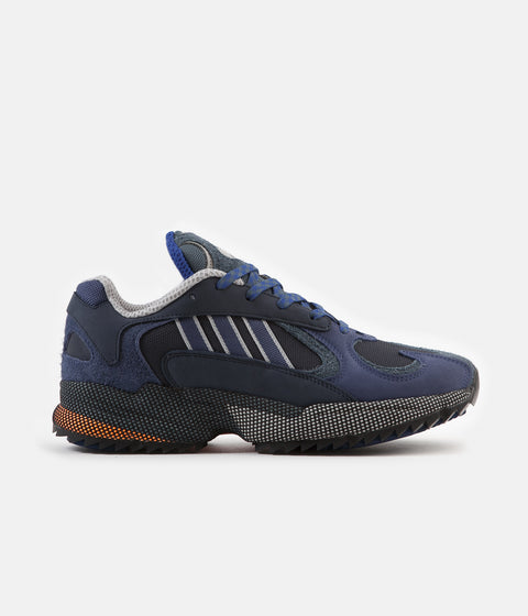 Adidas Originals Yung-1 Shoes - Legend Ink / Tech Indigo / Grey Two