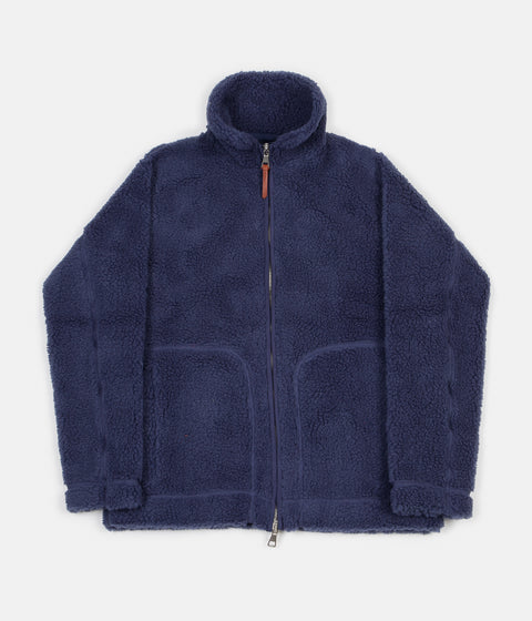 Albam Fleece Zip Jacket - Indigo