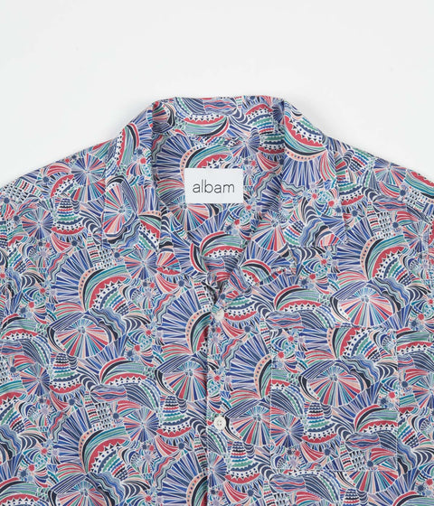 Albam Thompson Print Shirt - Multi