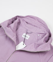 Albam Zipped Hooded Parka Jacket - Lavender Mist